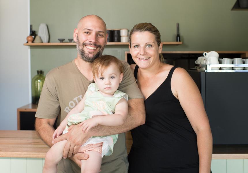 Hadleigh, Darcey and Carolynne Troy