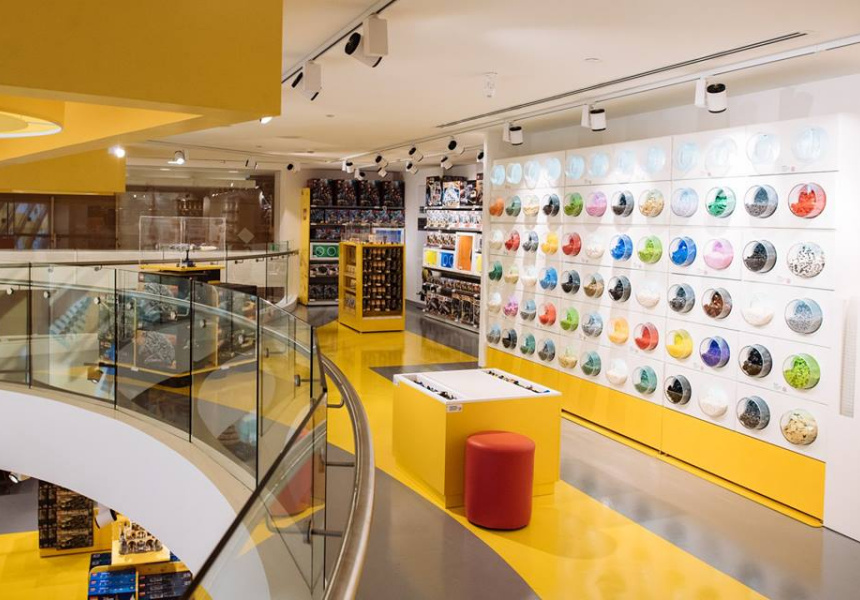 The Lego-certifed store at Westfield Bondi Junction.