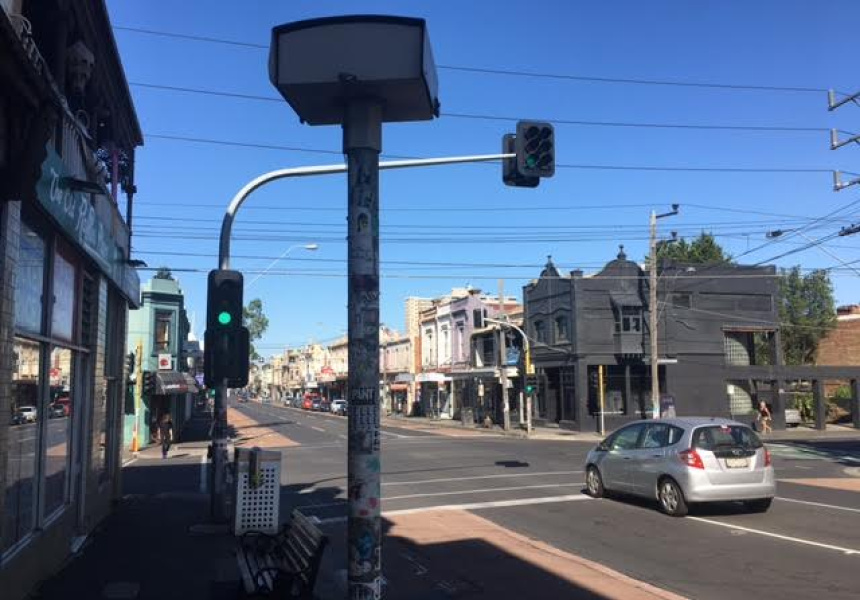 A Melbourne speed camera.