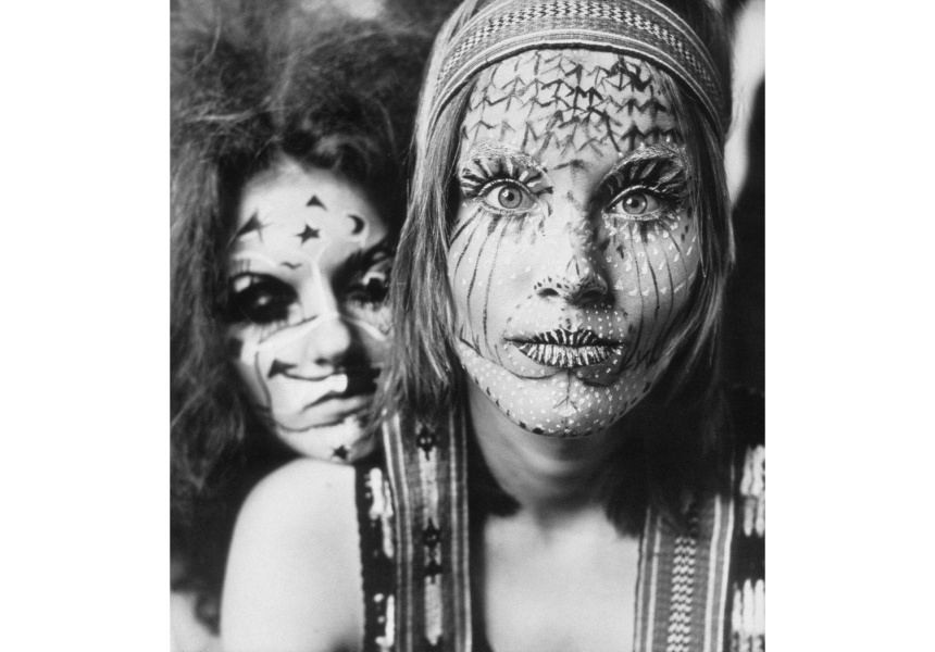 Age of Aquarius (Carol Jerrems, Jan Hurrell)  1970 gelatin silver print 42.2 x 40.6 cm Monash Gallery of Art, City of Monash Collection donated by the artist through the Australian Government's Cultural Gifts Program 2000 courtesy of the artist's estate and Monash Gallery of Art