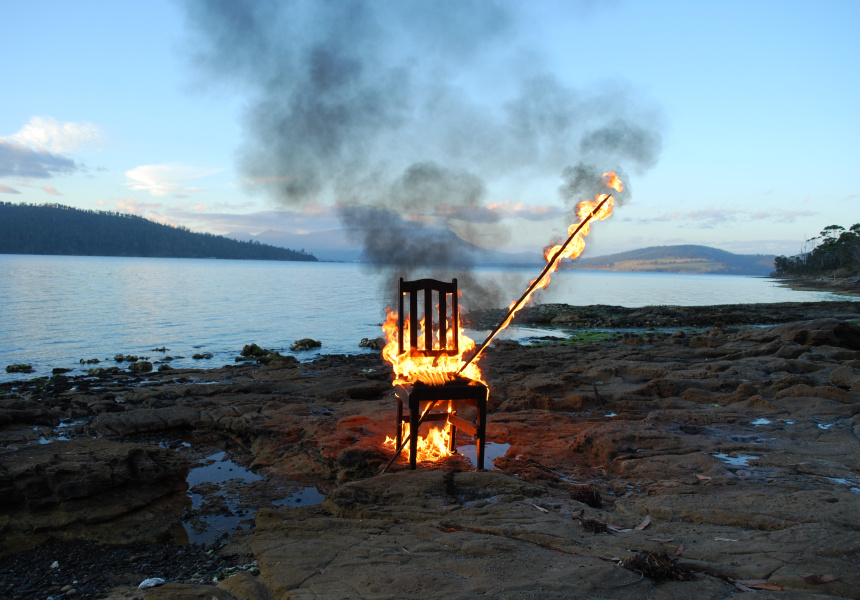 Julie Gough, Manifestation (Bruny Island), 2010. Carnegie Gallery Hobart