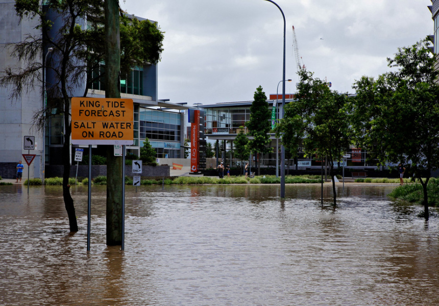 Image from the 2011 Brisbane floods