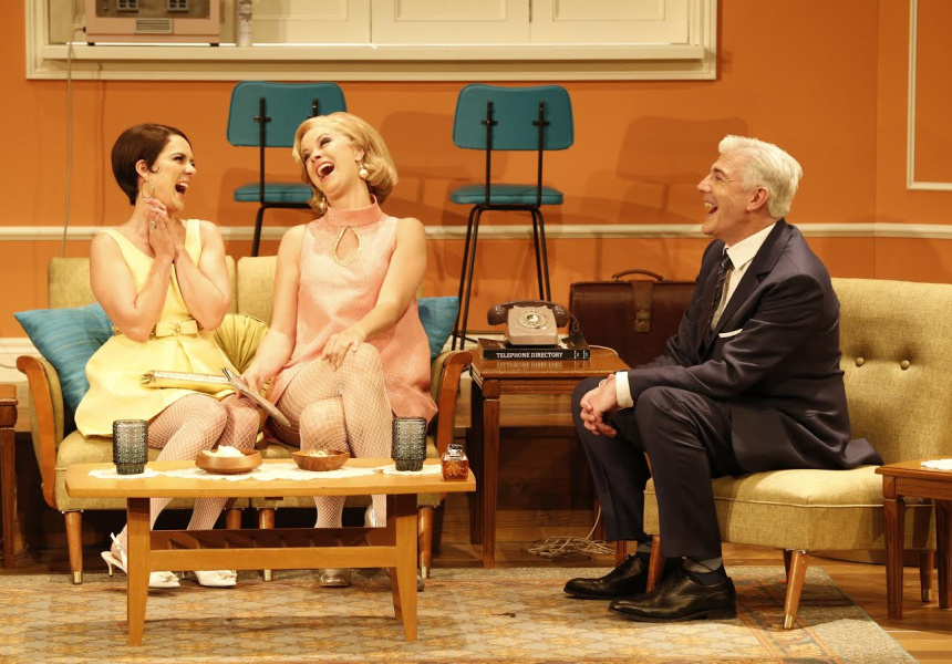 Shaun Micallef in The Melbourne Theatre Company's production of The Odd Couple at the MTC