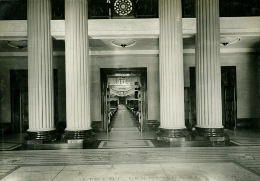The Vestibule, State Library NSW