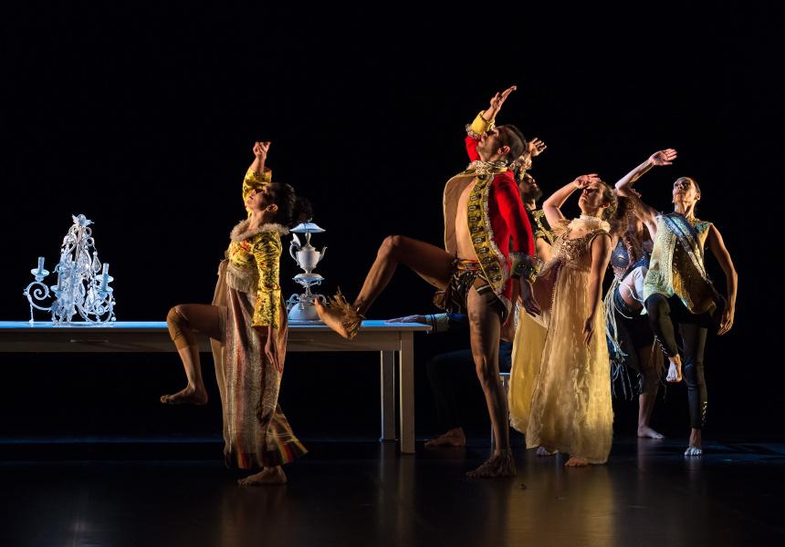 Bangarra Dance Ensemble in Macq.