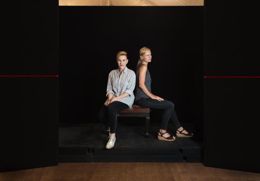 Anna Cordingley and Kate Mulvaney