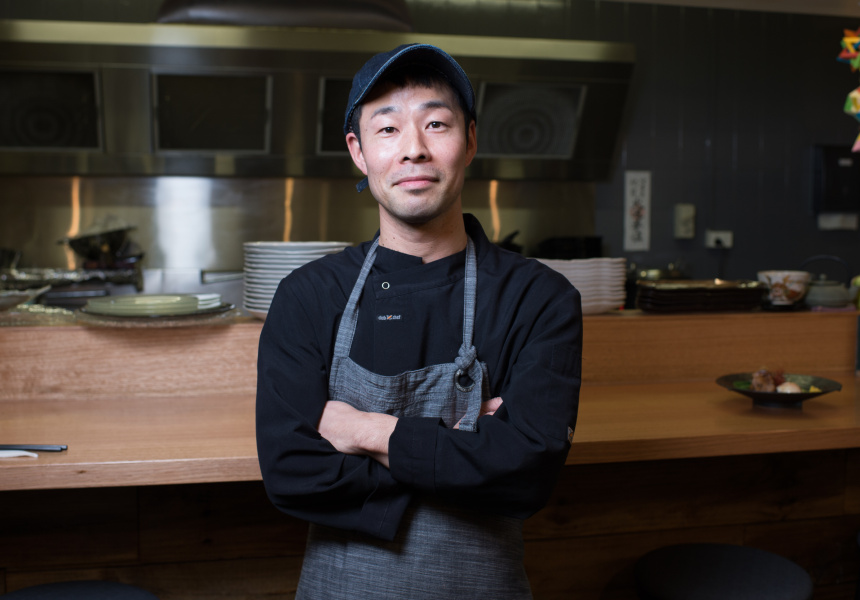 Chef-owner Shiro Okuchi.