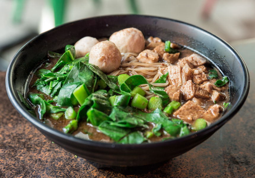 Boat noodles at Chonsiam
