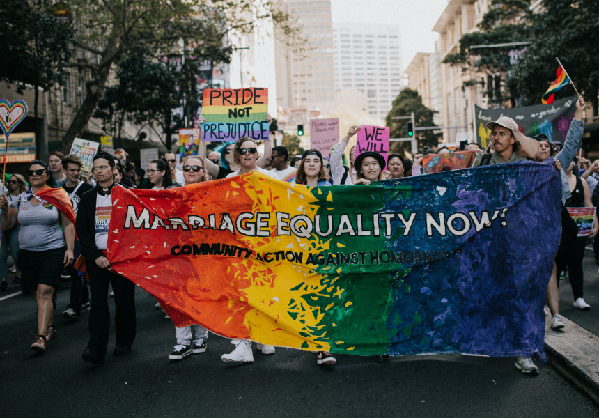 Sydney's Marriage Equality Rally