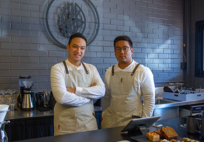 Darren Woon and Htet Aung of Blacklist Coffee Roasters
