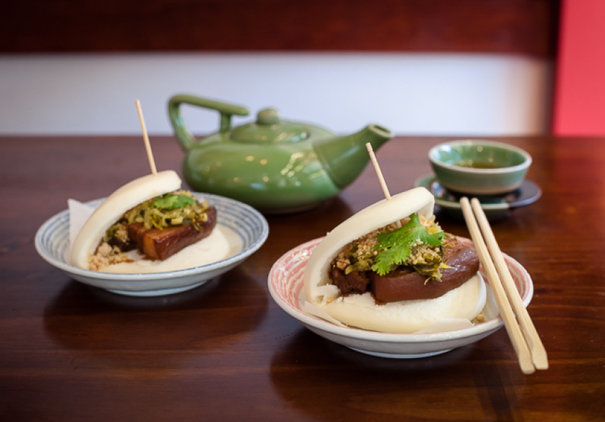 Braised Pork Belly Bun at Bao Dao