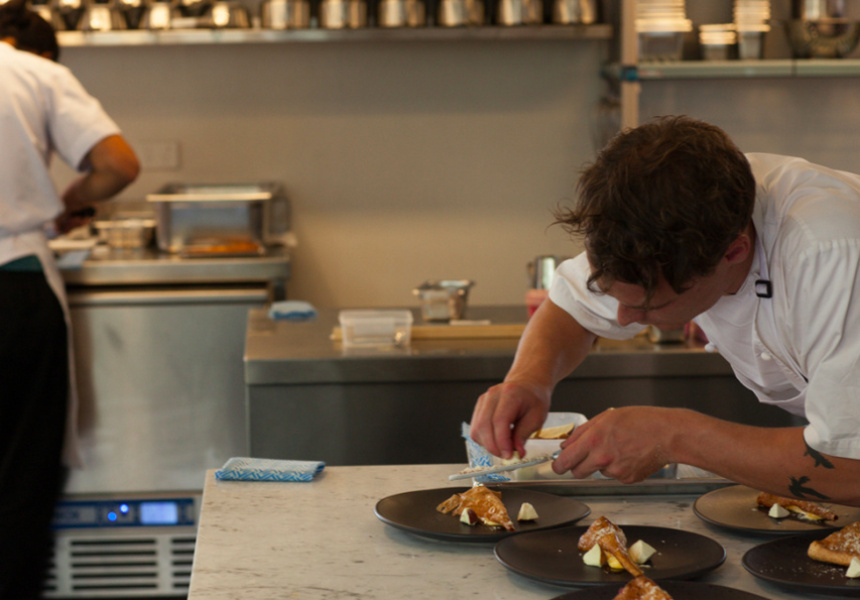 The kitchen at Brae.