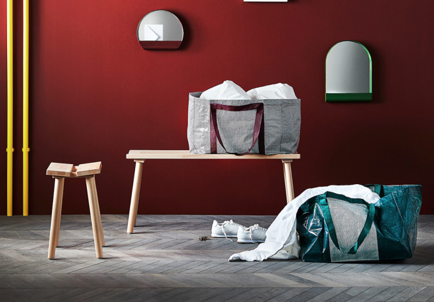 YPPERLIG Bench from Ikea $55