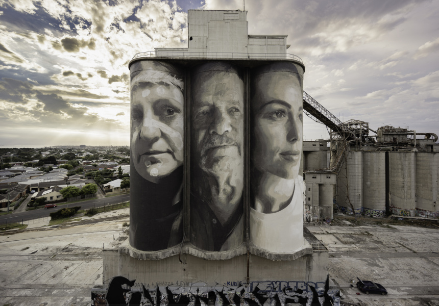 Geelong Cement Works, 2017 © RONE