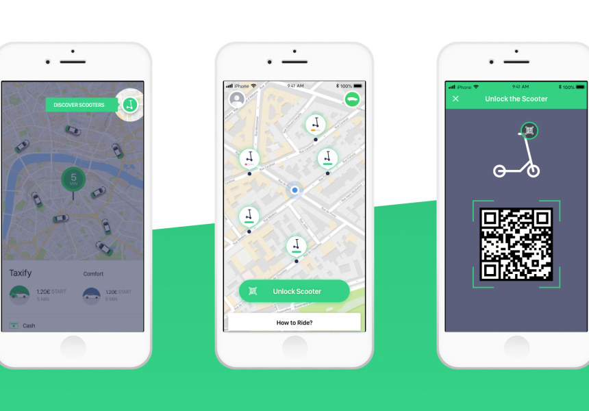 Ridesharing Company Taxify Announces an Australian Dockless