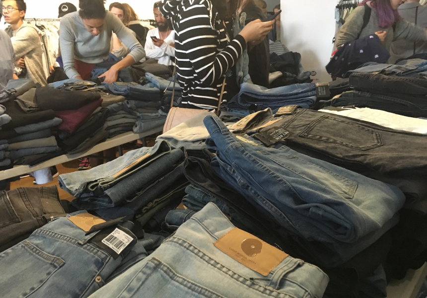 Cheap Monday and Euro Friends Sample Sale