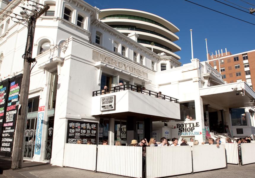 The Hotel Esplanade in St Kilda