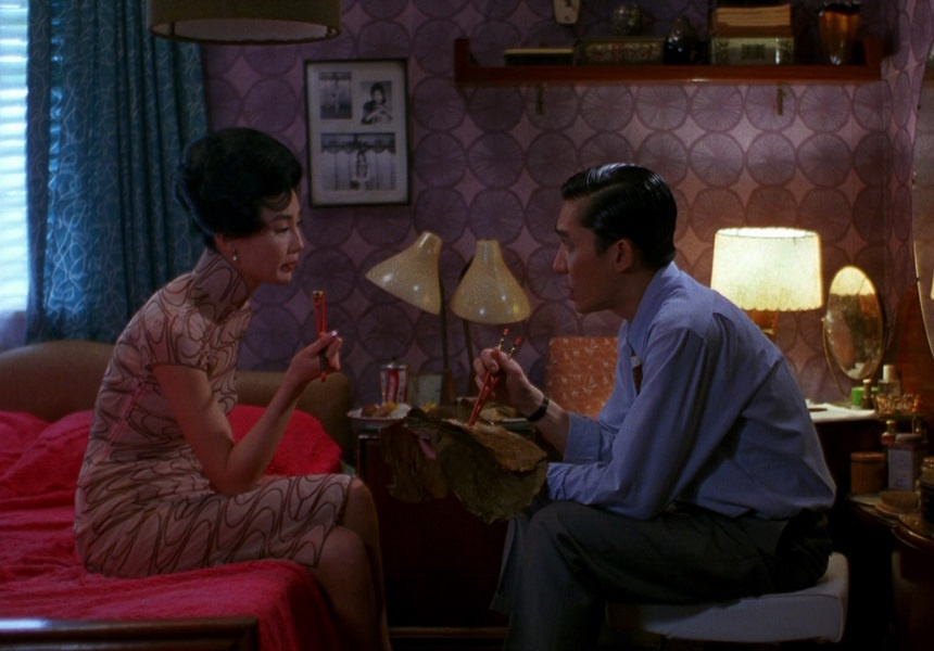 "2000's ""In the Mood for Love"", starring Tony Leung Chiu Wai and Maggie Cheung Man-yuk"