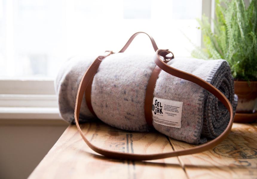 The original Seljak Brand blanket.