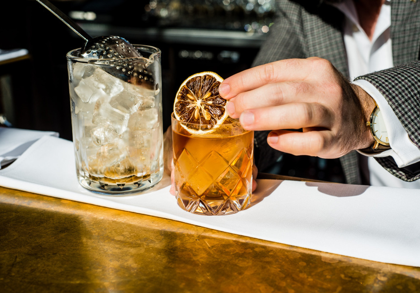 Sean Baxter's Golden Old Fashioned