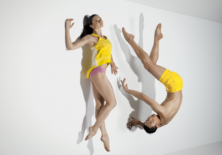 Dancers Jessica Thompson & Chen Wen