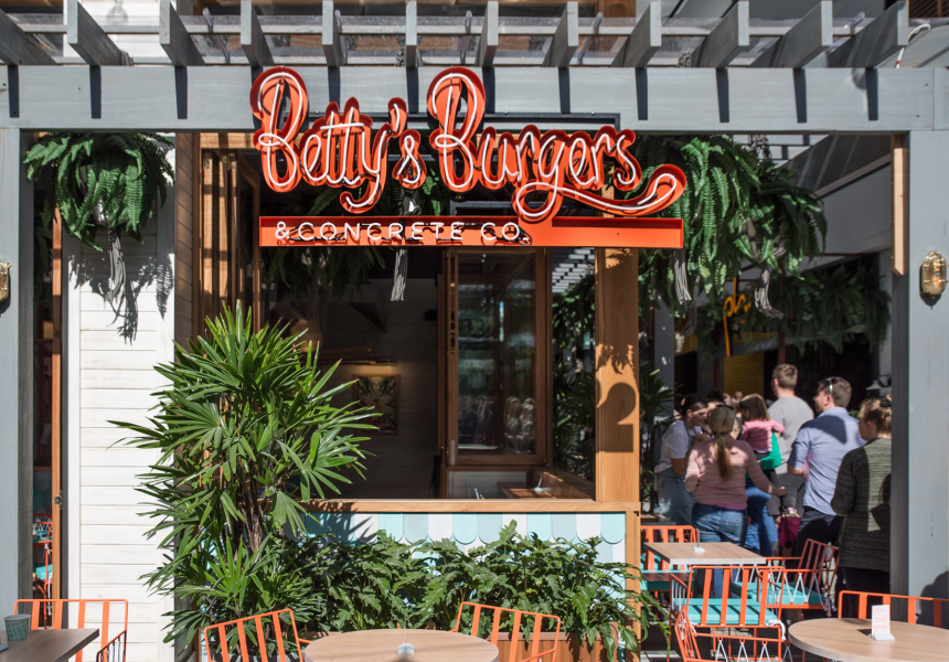 First Look: Betty's Burgers Opens in Chermside - Broadsheet
