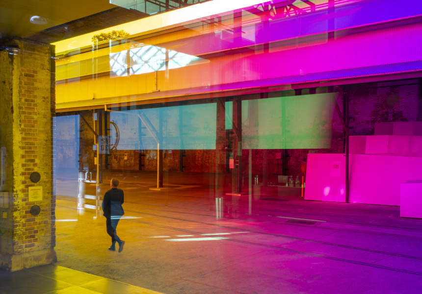 Rebecca Baumann, Radiant Flux, 2020. Commissioned by Carriageworks.