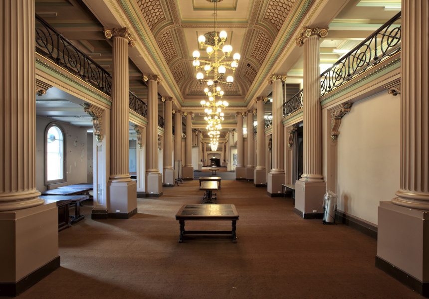 Queen's Hall at State Library of Victoria