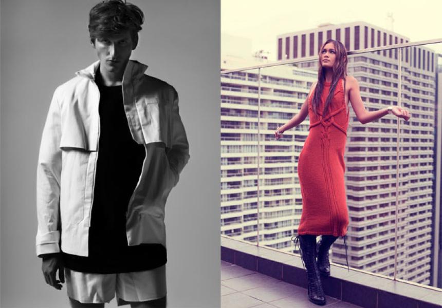 Left, Yuliy Gershinsky. Photo: Pages Digital. Right, Kaylene Milner.