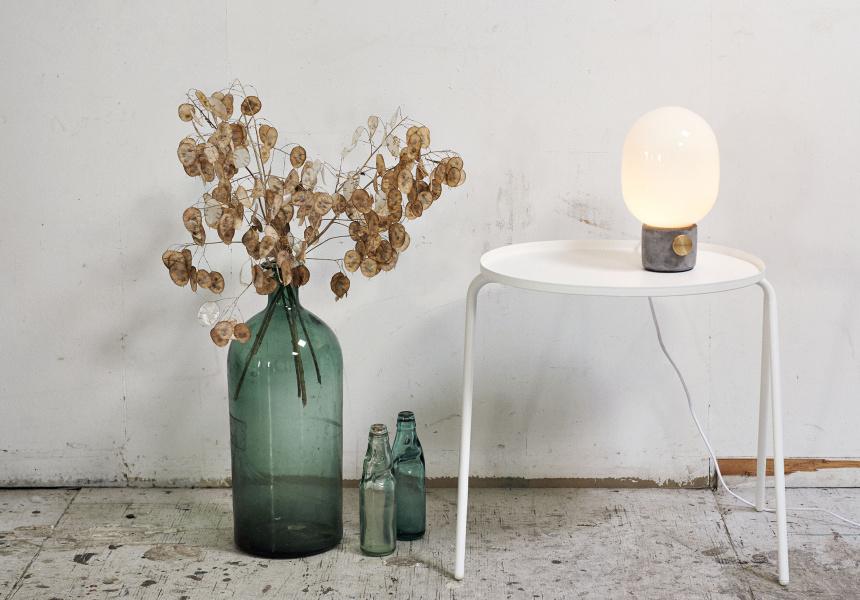 JWDA Concrete Table Lamp, $450