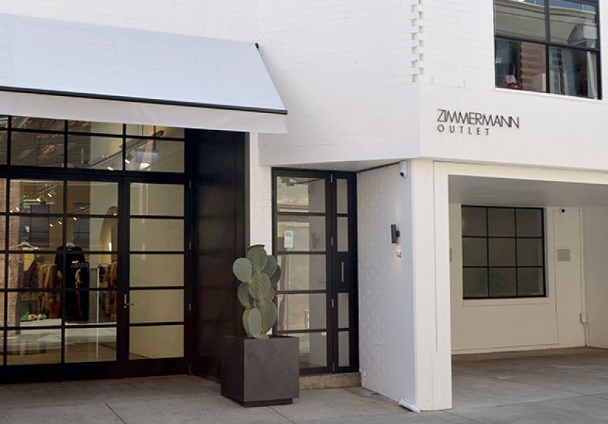 Zimmermann outlet store