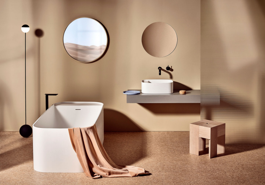 Nick Rennie Orlo bathroom collection - united products