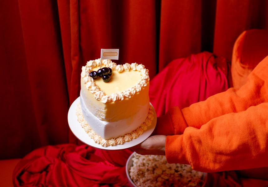 Kenny Lover's Be My Quarantine cake
