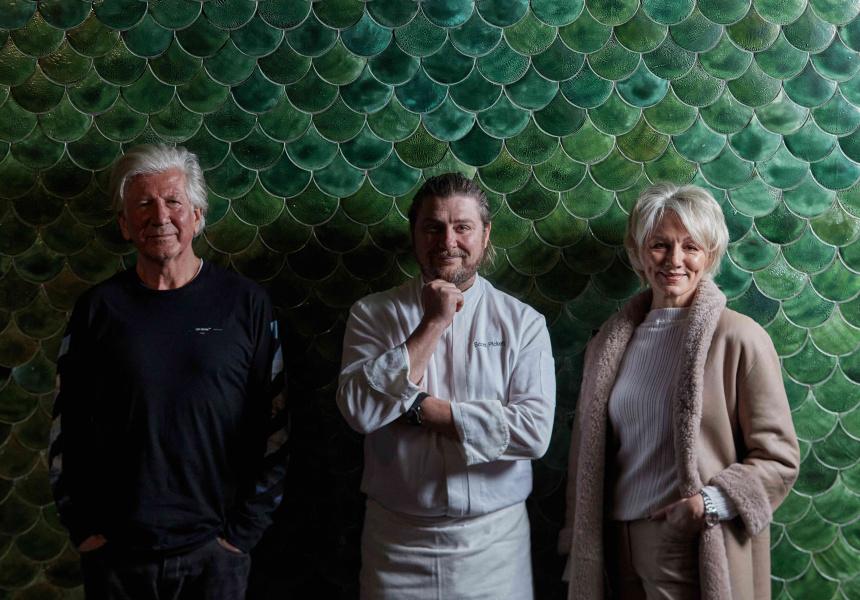 John van Haandel, Scott Pickett and Lisa van Haandel