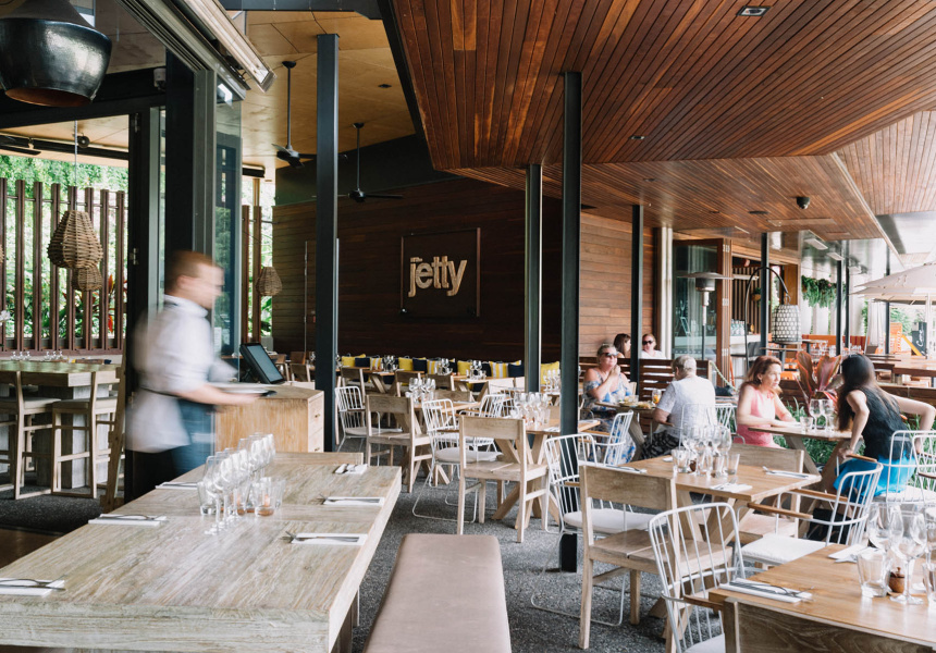The jetty south bank broadsheet for Table for 6 brisbane