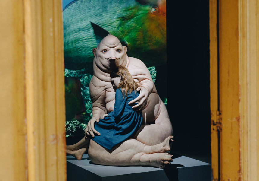 Patricia Piccinini's A Miracle Constantly Repeated