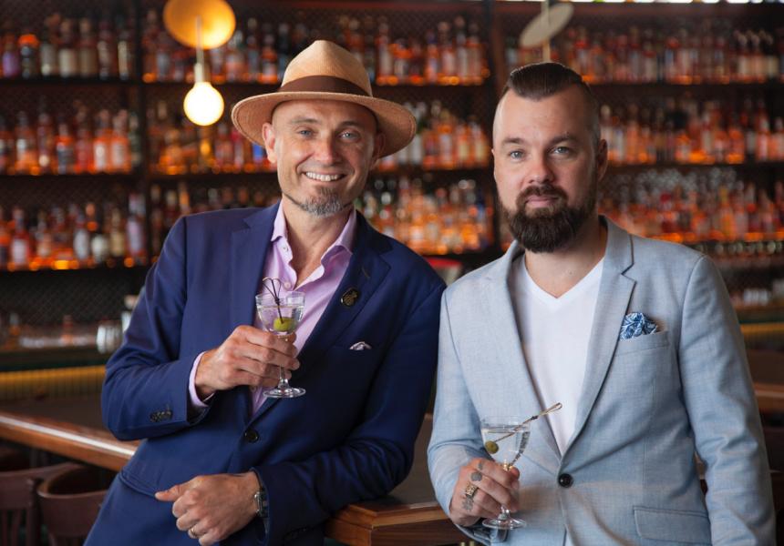 Sven Almenning (left) and Greg Sanderson (right)