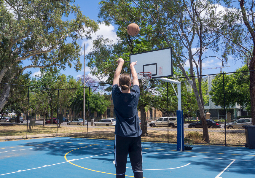 Hoop Dreams Five Outdoor Basketball Courts Around Adelaide