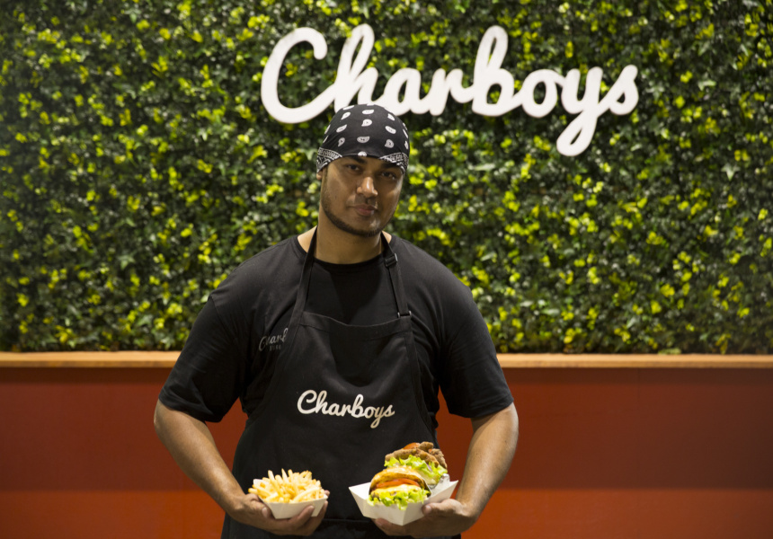 Charboys co-owner, Shravan Gautam.