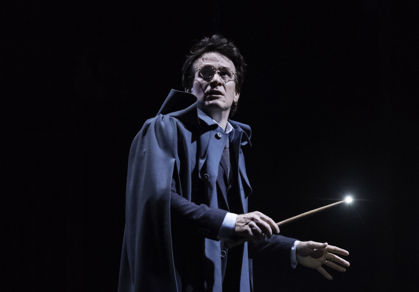 Jamie Parker as Harry Potter from the original London Company production  of Harry Potter and the Cursed Child