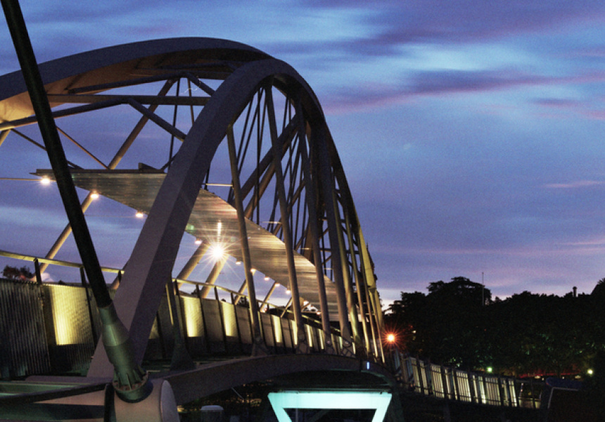 Goodwill Bridge. Image via Flickr / Brisbane City Council.