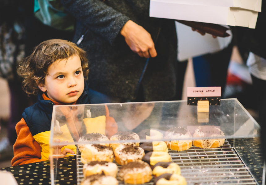 Melbourne's Winter Flour Market 2015