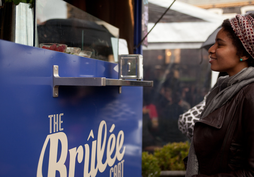 The Brulee Cart