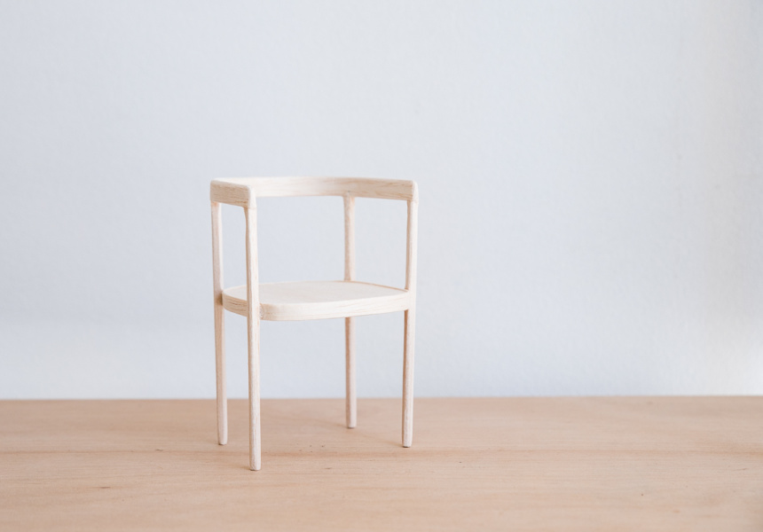 HU Chair by Dan Layden