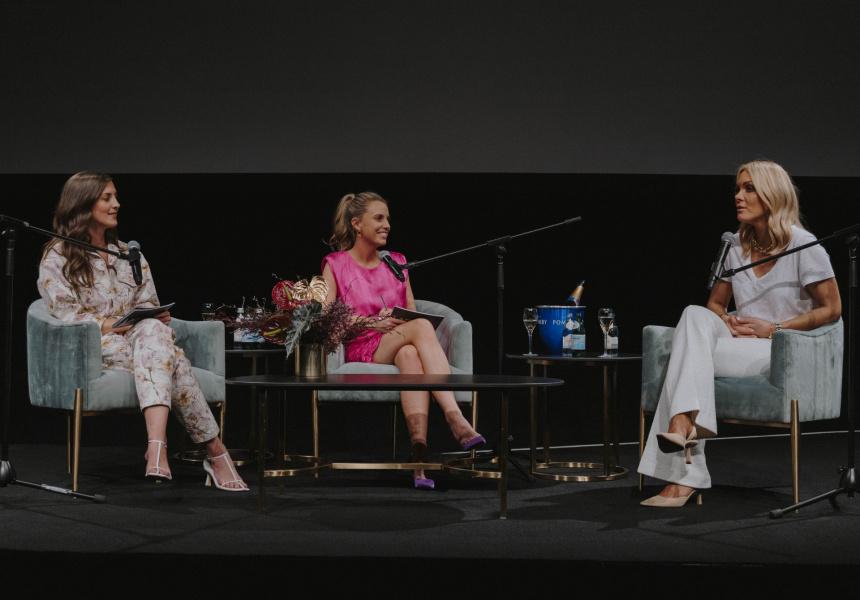 Live podcast with Rebecca Vallance