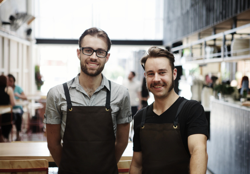Trevor (left) and Steve Simmons of Industry Bean.