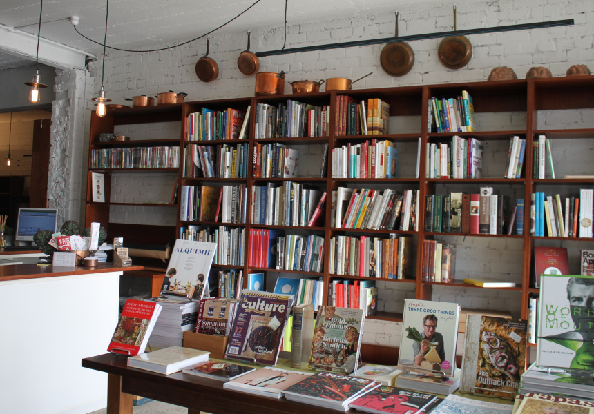 Books For Cooks's new city location