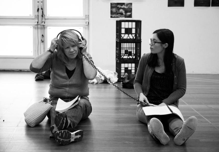 M. Rock rehearsal