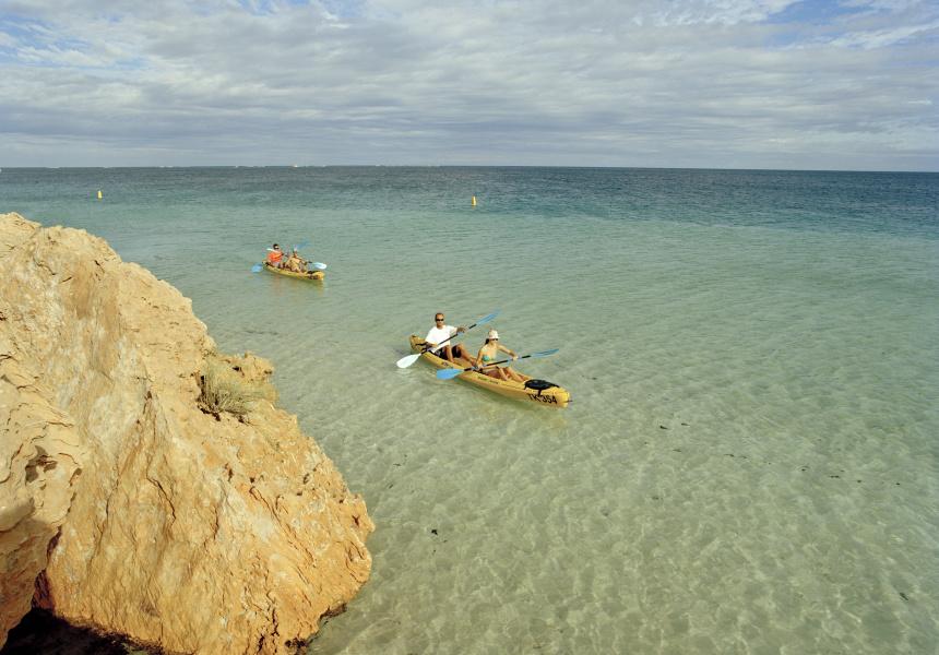 Ningaloo kayak adventures, Ningaloo Marine Park, Coral Coast