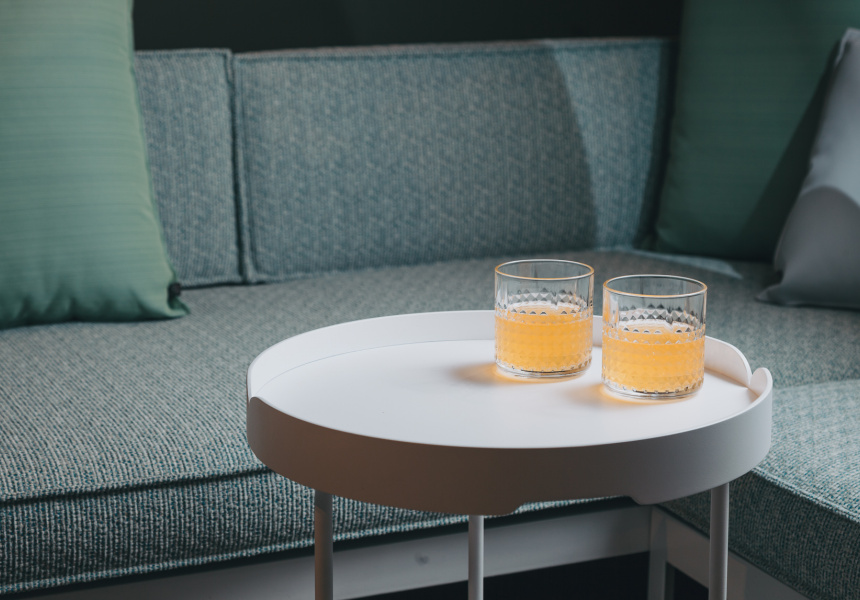 Lily Tray Table, 2016 Mercedes Benz Design Award winner